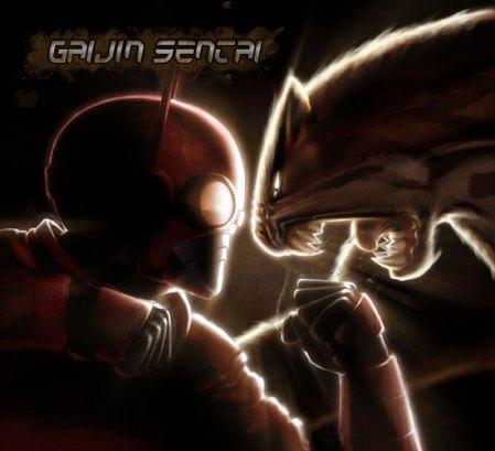 Gaijin Sentai EP Jaguatiman vs Sunrider