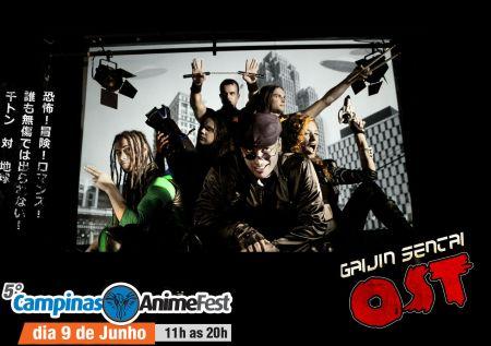 Gaijin Sentai - CAF - Dia 09/06